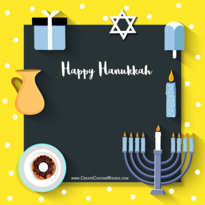 Greeting Cards: Happy Hanukkah Wishes