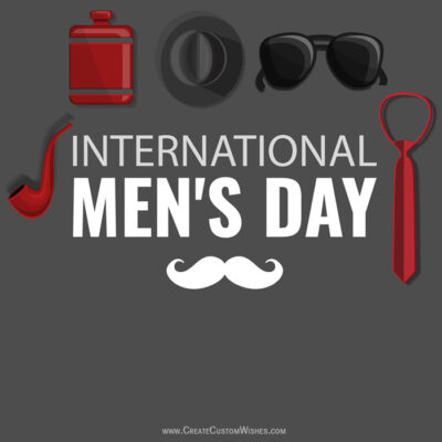 International Men's Day Images with Name