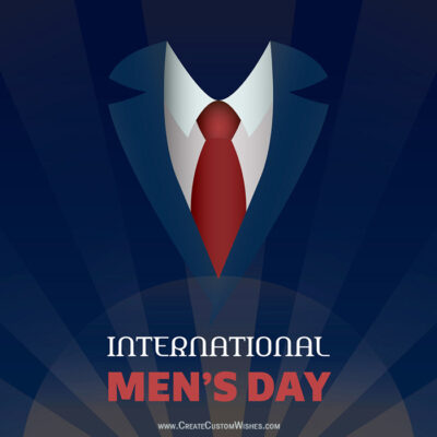 International Men's Day Pic with Name