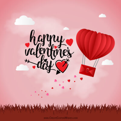 Make Customize Valentines day Wishes Cards Online