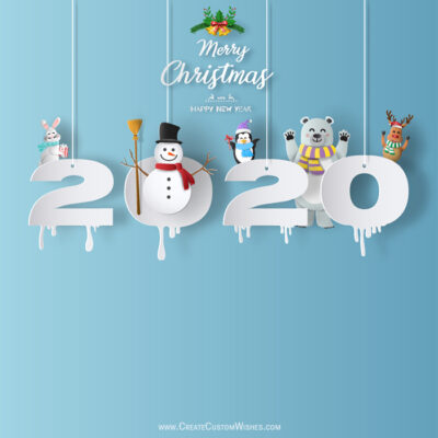 Merry Christmas 2020 and Happy New Year!