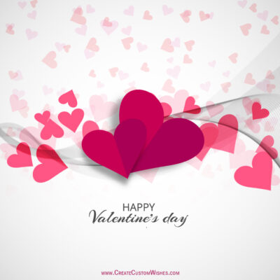 Online Valentines day Greetings Cards Editor Free