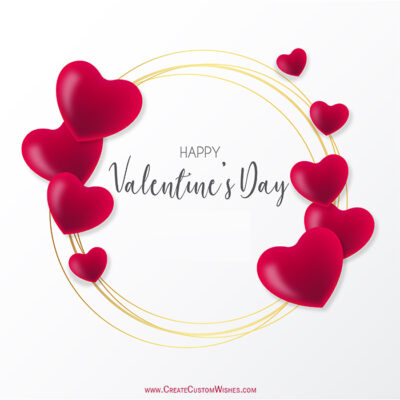 Valentines day Images with Name