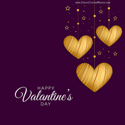 Write Name on Valentines day Wishes Images