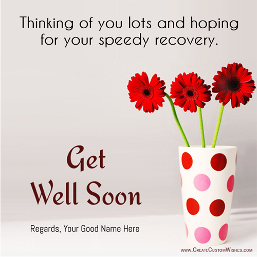 Get Well Soon Card Idea