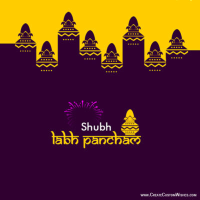 Greeting Cards: Happy Labh Panchami with Name