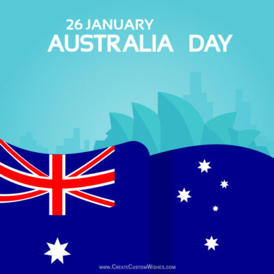 Create Custom Australia Day Greeting Cards