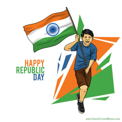 Create Republic Day Card in 2 Minutes