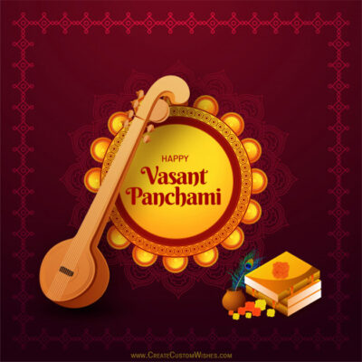 Create Your Own Vasant Panchami Card