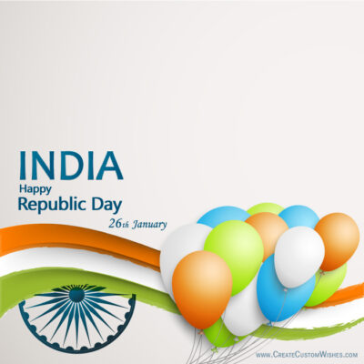 Free Making Republic Day Wishes Cards