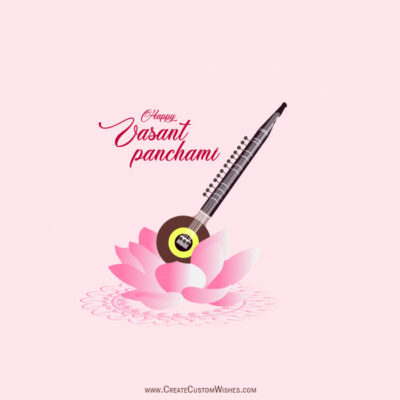 Free Making Vasant Panchami Wishes Cards