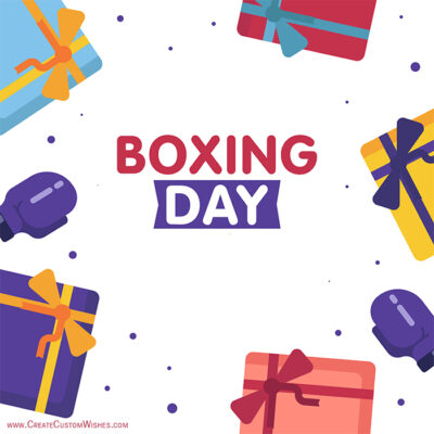 Greeting Cards Boxing Day 2019