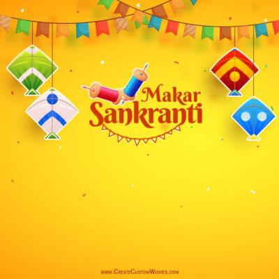 Greeting Cards: Makar Sankranti 2021