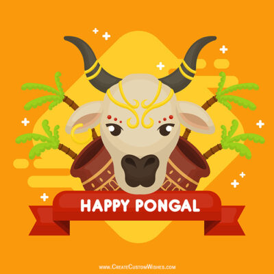 Make Custom Image for Happy Pongal