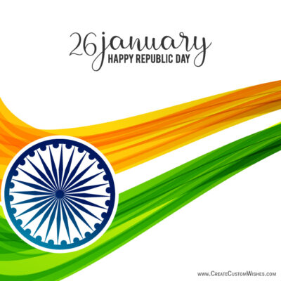 Make Custom Image for Republic Day India