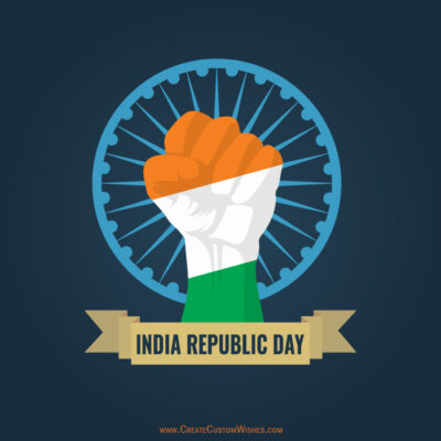 Make Indian Republic Day Image for DP