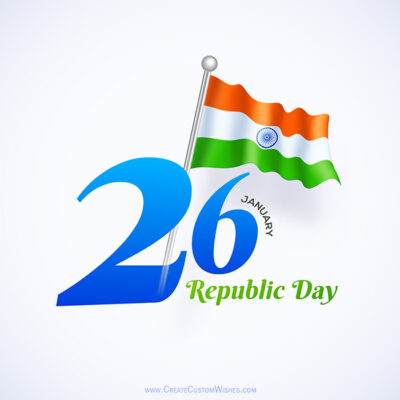 Making Republic Day Image for Whatsapp