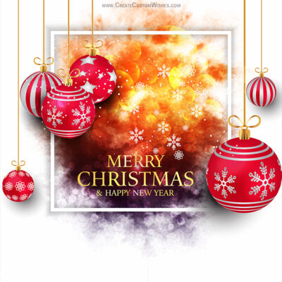 50+ Unique Merry Christmas Greeting Card Design