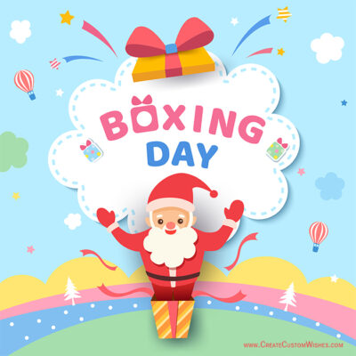Personalise Makar Boxing Day Wishes Images
