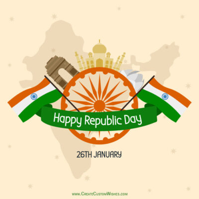 Personalise Republic Day Wishes Images