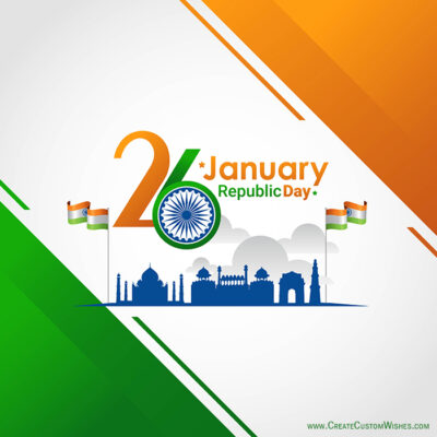 Republic Day Image Editing with Name