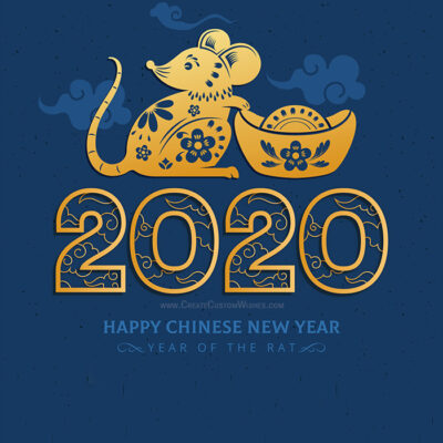 2020 Year of the Rat: Chinese New Year