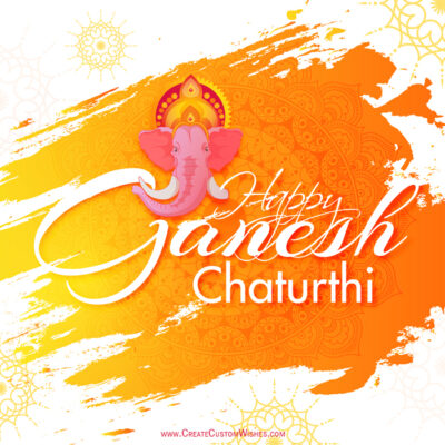 Create Your Own Ganesh Chaturthi Wishes Cards