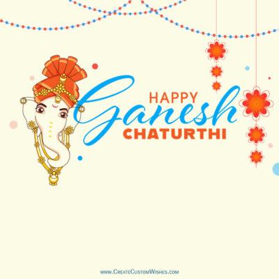 Free Greeting Card for Ganesh Chaturthi 2021