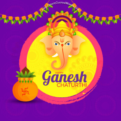 Free Greeting Card for Ganesh Chaturthi