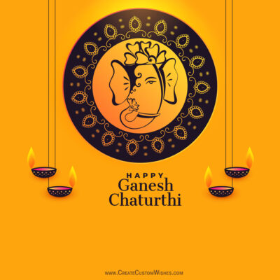Ganesh Chaturthi 2020 Images with Name