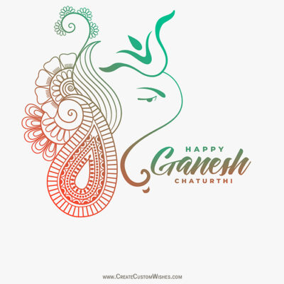 Happy Ganesh Chaturthi Pic with my Name