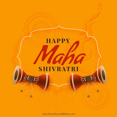 Happy Maha Shivratri Image with Name