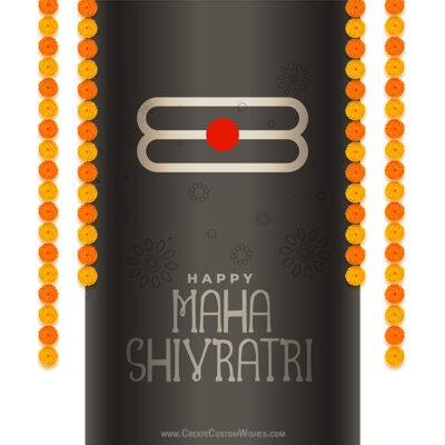 Maha Shivratri Image Editing with Name