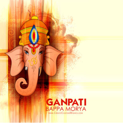 Make Your own Ganesh Chaturthi eCard Online