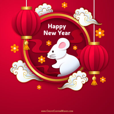 Make your own Chinese New Year Pic for DP