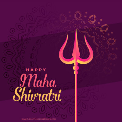 Making Maha Shivratri Image for Whatsapp