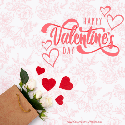 Add Name & Photo on Valentine's Day eCard