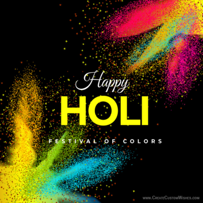 Best Greeting Cards for Happy Holi