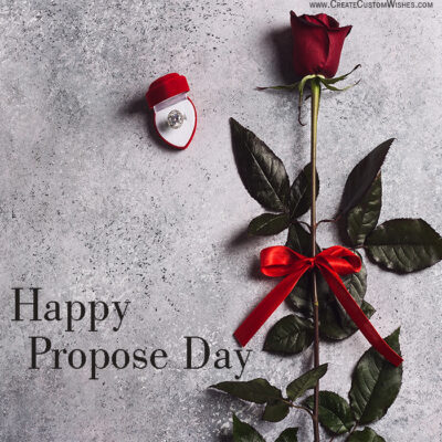 Happy Propose day with Image
