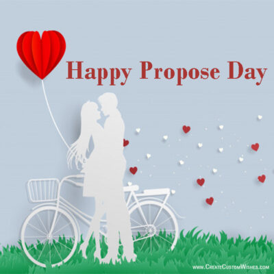 Online Happy Propose Day With Pic