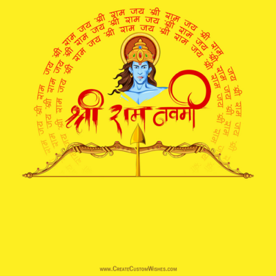 Create Ram Navami Image for Whatsapp Status