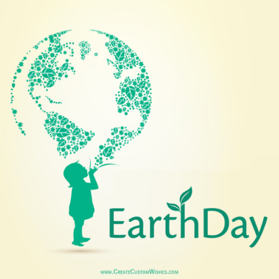 Free Make Earth Day Image with Name