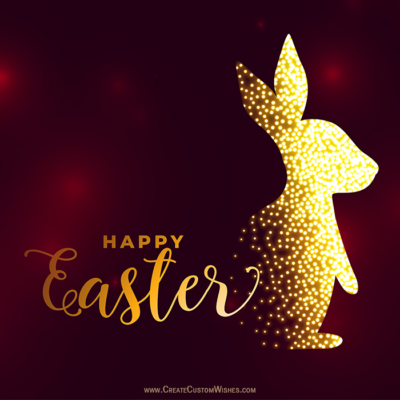 Free Make Easter Day Image with Name