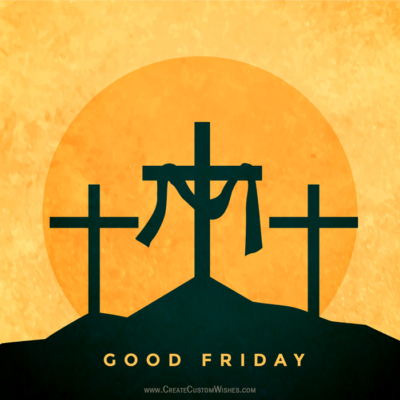 Online Editable Good Friday eCard