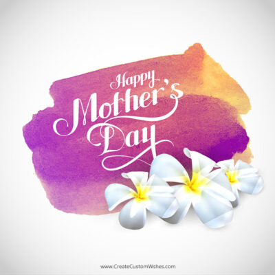 Add Name & Photos Mother's Day eCard