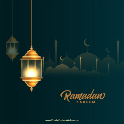 Customized Eid al-Fitr Image with Name