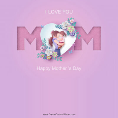 Editable Mother's Day Greeting Cards