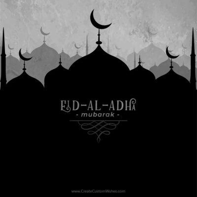 Eid al-Adha Mubarak Image Creator
