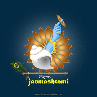 Create Custom Krishnashtami 2020 Image