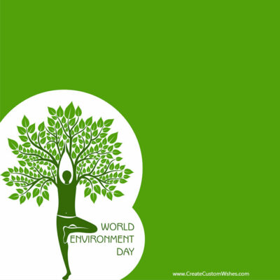 Customized World Environment Day eCard